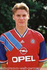 Alexander Zickler Bayern München 94-95 seltenes Foto+2