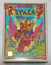 1990 Bandai Samurai Pizza Cats Mega Pururun Model Kit Unused