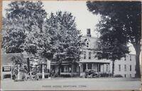 1930 Postcard: 'Parker House - Newtown, Connecticut CT'