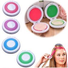4Pcs Hot Huez Hair Chalk Color Powder Christmas DIY Temporary Wash-Out Fashion