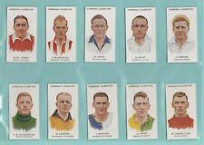 More details for football  -  carreras  ltd.  -  set  of  75  footballers  -  1934