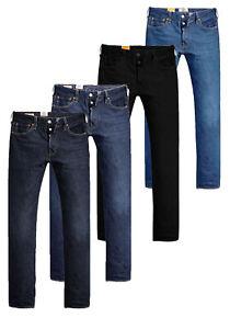 Levi´s Herren Straight Jeans 501 Original Fit