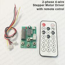 DC5V 12V Stepper Motor Driver Controller Board Speed Adjustable & Remote Control