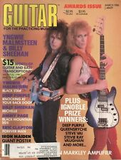 1986 March Guitar for the Practicing Musician - Vintage Magazine