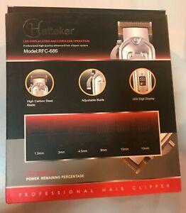 Hatteker RFC-690 Rechargable Hair Clipper Trimmer - 96001 Waterproof