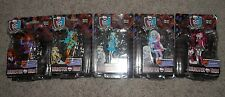 5 NEW MONSTER HIGH SCARY   FIGURE FRANKIE STEIN,abby, draculara,lagoona,clawdeen