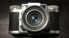 PAXETTE BRAUN VINTAGE 35 MM CAMERA IN LEATHER CASE MADE IN NURNBERG GERMANY