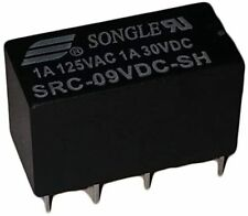 5 9 12 Volt DC Relay DPDT PCB 8-Pin Mount Non-Latching Non-Polarized Electronic
