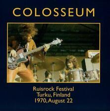 Colosseum - On the Radio: Ruisrock Festival, Turku, Finland 1970 (2018)  CD  NEW