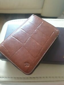 Mulberry Leather Card Wallet/ Organizer