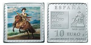 ESPAÑA 10 euro plata 2019 EL PRINCIPE BALTASAR CARLOS Velazquez - Museo Prado