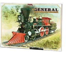 MPC THE GENERAL AMERICAN 4-4-0 WOOD BURNING STEAM LOCOMOTIVE 1/25 MCP818