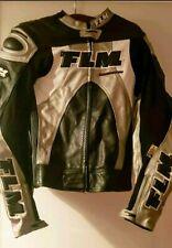 Chaqueta moto hombre FLM original de Piel de altisima calidad
