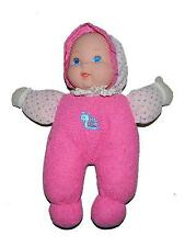 "Gi Go 10"" Baby Doll Pink Polka Dot Outfit Blue Snail Eyes Lovey"