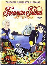 Treasure Island DVD 2003 New Sealed Animated Childrens All Regions
