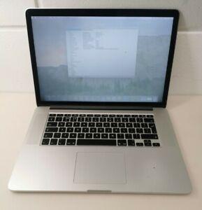 """Apple MacBook Pro Retina 15"""" 2014 Intel Core i7 2.2Ghz 16GB RAM 256GB SSD"""