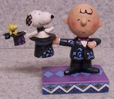 Figurine Peanuts Charlie Brown Magician Hat Trick NEW Jim Shore with gift box