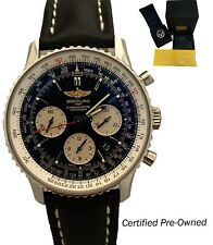 Breitling Navitimer 01 Chrono Steel Black Dial 43mm Box & Papers AB0120 Watch