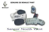 Brand New Genuine Renault Trafic III  - Ignition Barrel & Keys Fob Door Lock Set