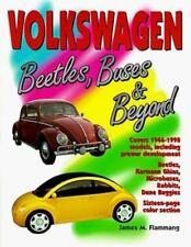 """FLAMMANG """"VOLKSWAGEN: BEETLES, BUSES AND BEYOND"""" 1996 1ST PB ED NF 1946-1998 VW"""