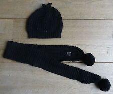 ELIANE ET LENA PARIS MT 55 baby muts en sjaal 120cm meisje hat and scarf bonnet