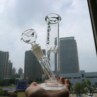 New 7.87'' Water Glass Bong Hookah Pipes Glassware Shisha Tobacco Bowl Holder
