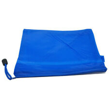 A4 Fabric Zip Portfolio Bags Filing Document Pencil Storage Holder, A4 Blue G8G8