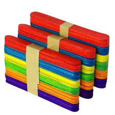 100Pcs Wooden Large Wood Waxing Spatula Wax Stick Craft Set DIY Waxing Sticks