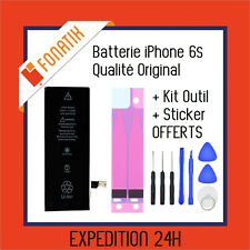 BATTERIE IPHONE 6S INTERNE NEUVE 0 CYCLE 1715 mAh + KIT OUTILS + STICKER