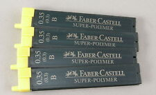 Four 12-Packs Of Faber-Castell Pencil Lead - 0.35mm B - Germany - New
