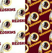 Nfl Washington Redskins Logo Quilting Cotton Fabric By The Half Yard