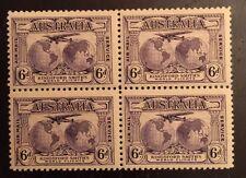 Australia C2 Block Of 4 2 Mvlh, 2 Mnh