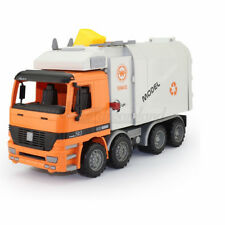 1:22 Side Loading Garbage Trash Truck with Waste Bin Inertia Friction Powered