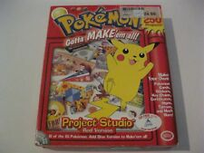 Pokemon Project Studio Red Version new PC CD-ROM The Learning Company
