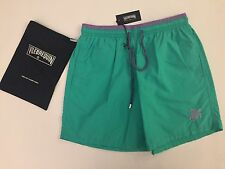 New w Tags & Bag Authentic Vilebrequin Moka Swim Trunks Green - Men LARGE ( L )