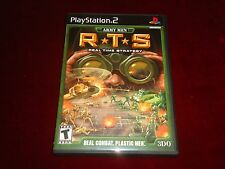 ARMY MEN  RTS <>{}<> Sony PlayStation 2  PS2 <>{}<> Disc is in Amazing Condition