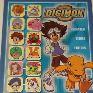 BANDAI UPPER DECK DIGIMON CARD-ANIMATED-HOLO-PREVIEW-DIGIDESTINED-USE MENU
