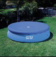 Telo copri piscine con anello Easy Set Intex per piscine tonde diametro 457 cm