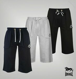 Mens Lonsdale Elasticated Drawstring Loose Box Pants Sizes from S to 4XL