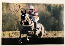 ANDREW THORNTON - 12x8 Signed Photo - Jockey