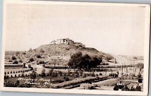 RPPC View of Wrigley's Hilltop Home, Phoenix AZ c1938 Vintage Postcard X37