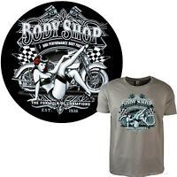 4312 BL Biker T-Shirt