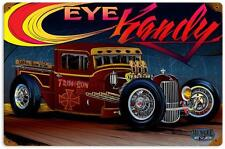 Hot Rod Drag Race Rat Rod Truck Metal Sign Man Cave Garage Body Shop Club MNI047