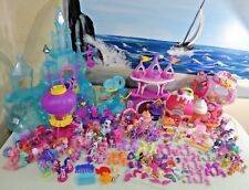 HUGE My Little Pony Lot L@@K PONYVILLE Ice Caste HOT AIR Balloon Ton of Ponies!