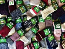 6 Pairs Women Luxury High Quality Chunky Thick Thermal Fresh Fell Wool Socks MBK
