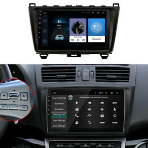 "9"" Android 9.1 Car Radio Head Unit GPS Camera Fit For Mazda 6 2008-2012"