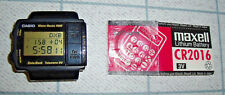 "RELOJ ""CASIO DB-57W"" MODULO 1225 DATA BANK TELEMEMO RARE"