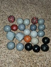23 mostly Fisher Price Great Adventures Imaginext Ball Boulders Rock Gray