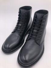 Saint Laurent Stiefeletten Army Ankle Boots Leder Schwarz Gr. 38 *LP: 899 EU*NEU