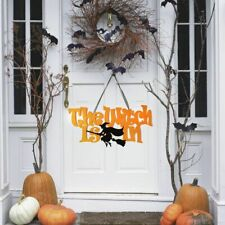 Halloween Decoration Home Hanging Door Decor Wall Sign Party Home Decoration New